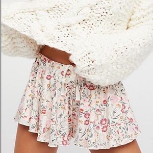 Free People Intimately A Go Go Swing Shorts Small